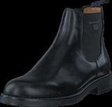 Gant - Oscar G00 Black Leather