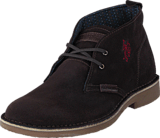 U.S. Polo Assn - Amadeus 13 Suede Dark Brown