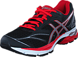 Asics - Gel-pulse 8 Black/vermilion/silver
