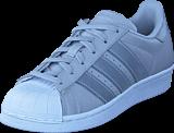 adidas Originals - Superstar J Lgh Solid Grey/Silver Met/Wht