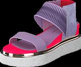 United Nude - Rico Sandal Lavender/neon Pink