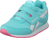 Reebok Classic - Royal Cljog 2 Kc Blue Lagoon/White/Squad Pink