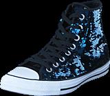 Converse - All Star Hi Sequins Midnight Indigo