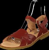 Angulus - Sandal With Buckle Rust