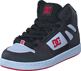 DC Shoes - Pure High-top Black/Red/White
