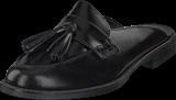 Pieces - Psmalak Leather Mule Black