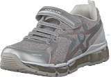 Geox - J Android Silver/white