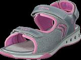 Geox - Jr Sandal Jocker Silver/pink