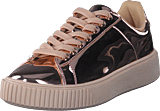 Bianco - Laced Up Sneaker Bronze