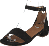 Bianco - Classic Suede Sandal Black