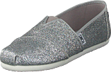Toms - Alpargata Youth Silver Iridescent Glimmer