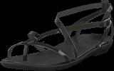 Crocs - Isabella Gladiator Sandal W Black/black