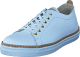 Sneaky Steve - Silvermine Low White Leather