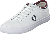 Fred Perry - Kendrick Tipped Cuff Canvas White / Navy / Port
