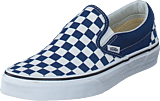 Vans - Ua Classic Slip-on Checker  Blue/white