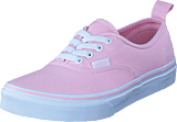 Vans - Uy Authentic Elastic Lace Chalk Pink/true White