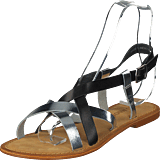 Vero Moda - Mary Leather Sandal Black/silver