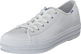 Keds - Triple Kick Leather White