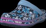 Crocs - Crocband Graphic Iii Clog Tropical Floral/navy