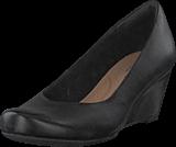 Clarks - Flores Tulip Black Leather